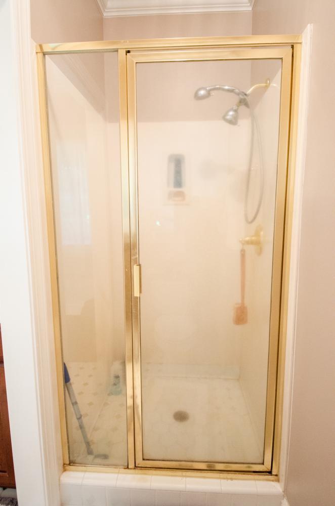 Complete Bathroom Remodel - Re-Bath Bathroom Remodel - Rebath Remodel - Myrtle Beach Bathroom Remodeler - Walk-in Shower - Durabath wall surround - Half bench shower - ada compliant bathroom - master bathroom remodel - natural stone shower - natural stone remodel - natural stone bathroom - stall shower remodel -