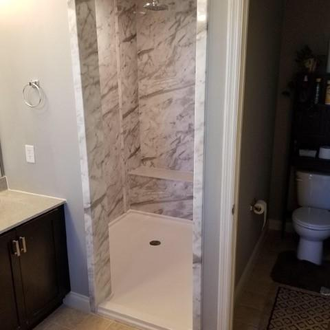 Re-Bath  St. Louis, MO Shower remodel in St. Louis, MO