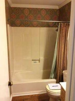 Before bathtub replacement by Re-Bath  Milledgeville, GA