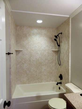 After bathtub replacement by Re-Bath  Milledgeville, GA