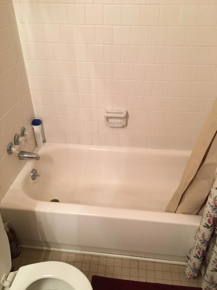 Before custom shower conversion