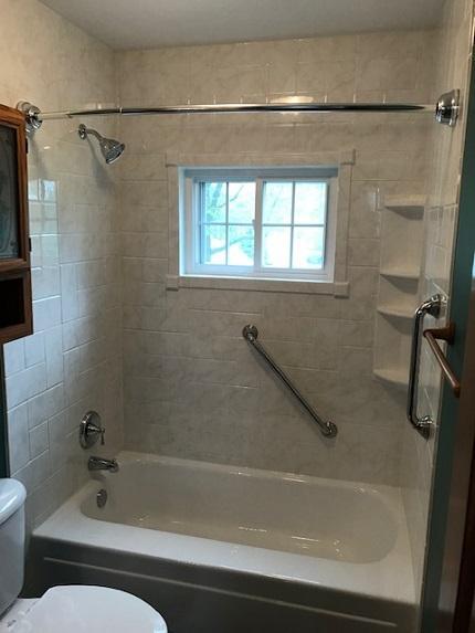 After Re-Bath  Cedar Rapids, IA renovation