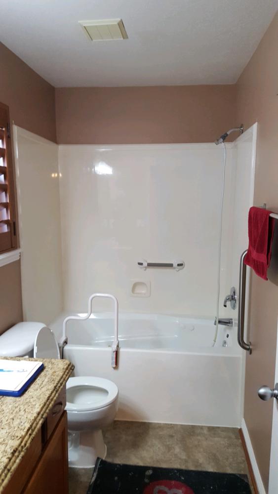 Before Re-Bath  Denver, CO renovation