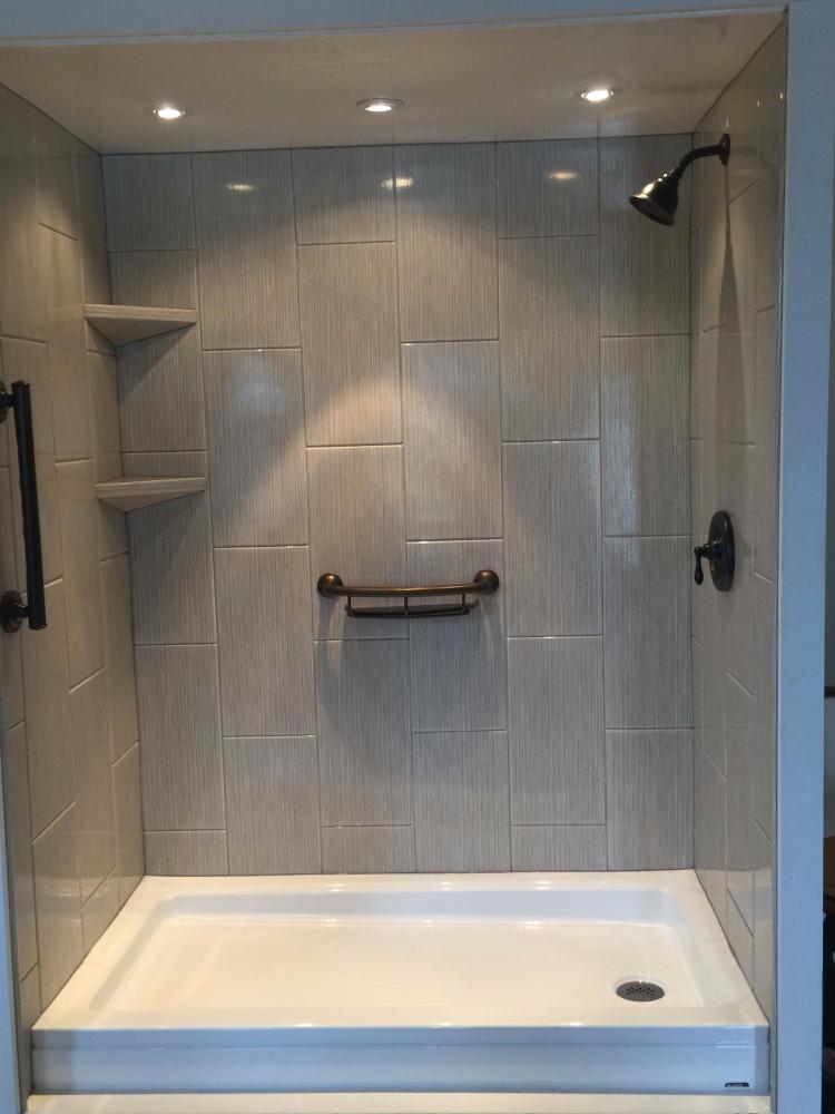 After Re-Bath  Dayton, OH renovation