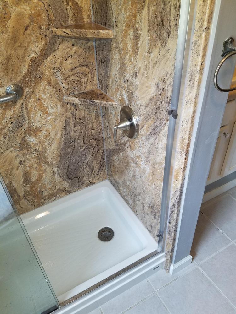 Tub converted to Shower in Salem, Al