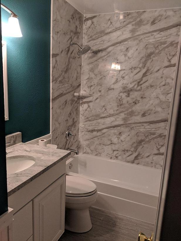 After Re-Bath  Denver, CO renovation