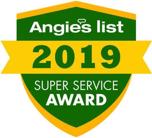 2019 Angies List Super Service Award