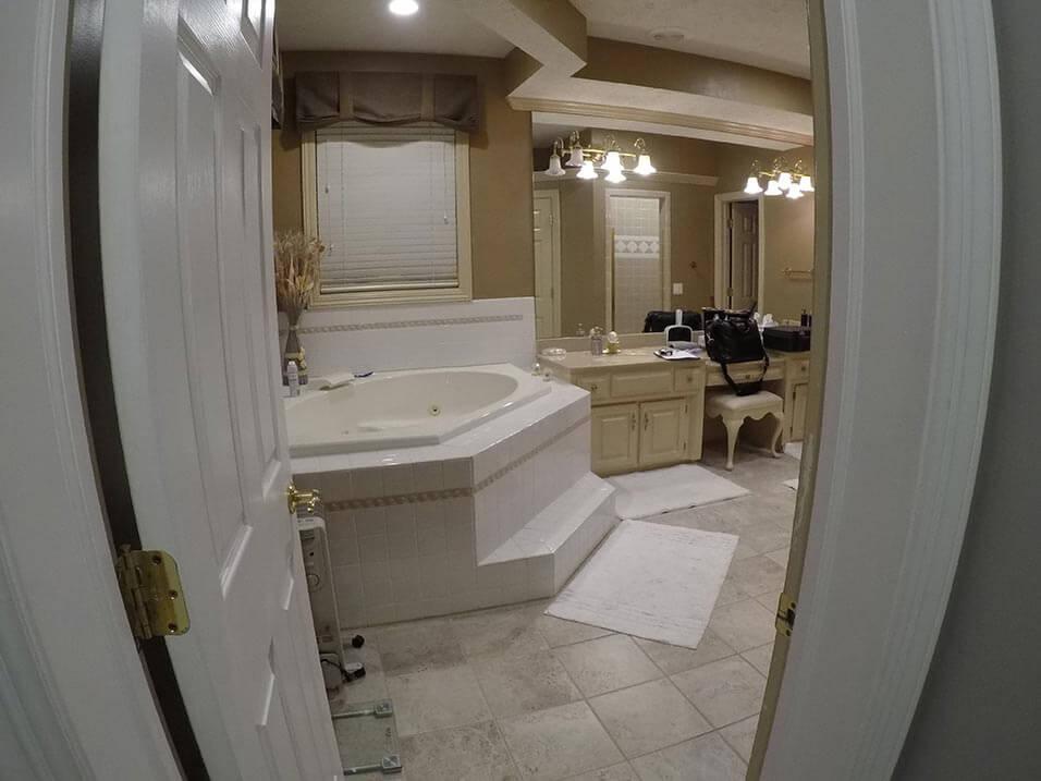 Before Re-Bath  Spokane, WA renovation