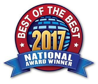 Best of the Best 2017 National Award Winner